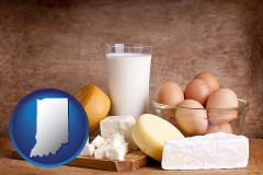 indiana dairy products