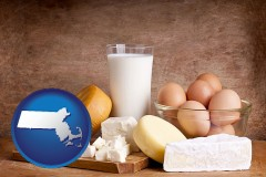 massachusetts dairy products