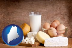 maine dairy products
