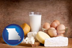 missouri dairy products