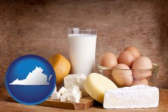 virginia dairy products