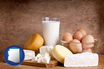 dairy products - with Arizona icon