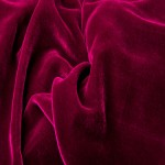 dark red velvet drapery fabric