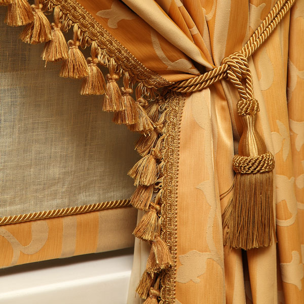 Gold Window Drapery Tassels