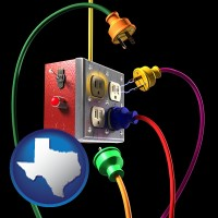 texas electric outlets and plugs