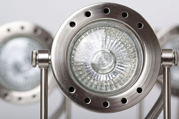 an electric led light fixture