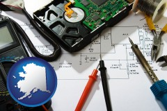 alaska electronic devices, tools, and supplies