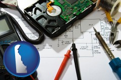 delaware electronic devices, tools, and supplies