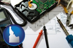 idaho electronic devices, tools, and supplies