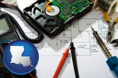 louisiana electronic devices, tools, and supplies