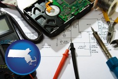 massachusetts electronic devices, tools, and supplies