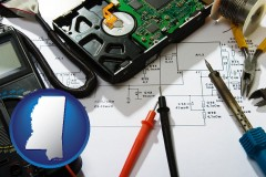 mississippi electronic devices, tools, and supplies