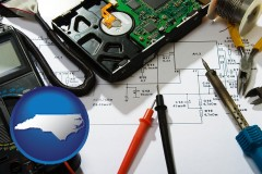 north-carolina electronic devices, tools, and supplies