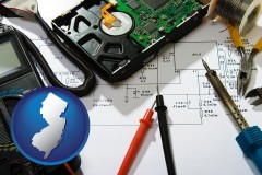 new-jersey electronic devices, tools, and supplies