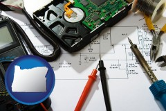 oregon electronic devices, tools, and supplies