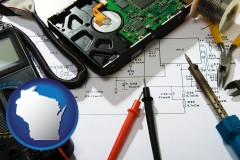 wisconsin electronic devices, tools, and supplies