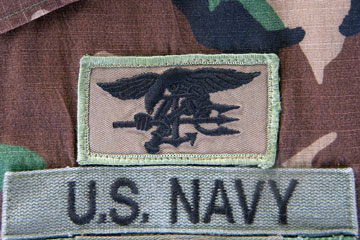 an embroidered uniform patch
