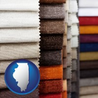 illinois upholstery fabric samples