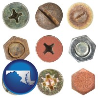 maryland screws heads and bolt heads