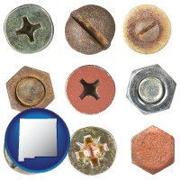 new-mexico screws heads and bolt heads