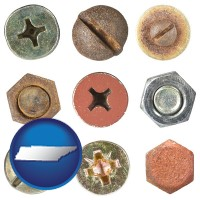tennessee screws heads and bolt heads