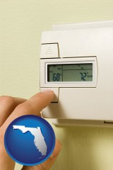 florida a heating system thermostat