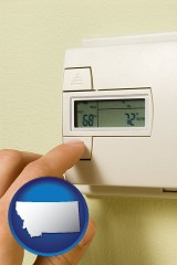 montana a heating system thermostat