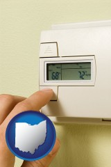 ohio a heating system thermostat