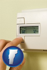vermont a heating system thermostat
