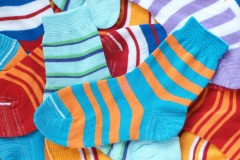 colorful socks for children