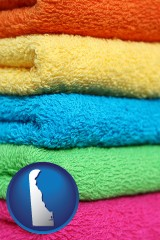 delaware colorful bath towels