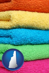 new-hampshire colorful bath towels