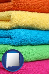 new-mexico colorful bath towels