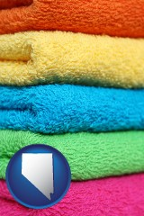 nevada colorful bath towels