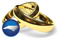 north-carolina wedding rings