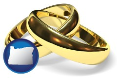 oregon wedding rings