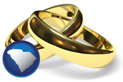 south-carolina wedding rings