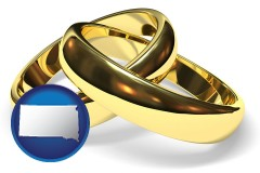 south-dakota wedding rings