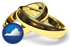 virginia wedding rings