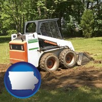iowa landscaping equipment (a skid-steer loader)