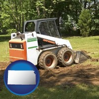 kansas landscaping equipment (a skid-steer loader)