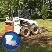 louisiana landscaping equipment (a skid-steer loader)