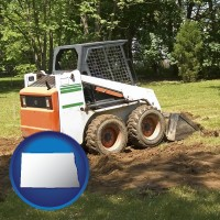 north-dakota landscaping equipment (a skid-steer loader)