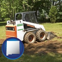 new-mexico landscaping equipment (a skid-steer loader)