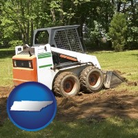 tennessee landscaping equipment (a skid-steer loader)