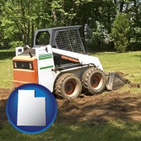 utah landscaping equipment (a skid-steer loader)