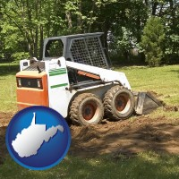 west-virginia landscaping equipment (a skid-steer loader)