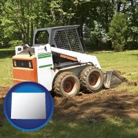 wyoming landscaping equipment (a skid-steer loader)