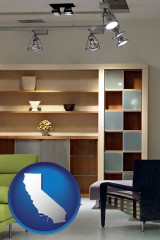 california ceiling lights and track lighting