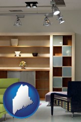 maine ceiling lights and track lighting